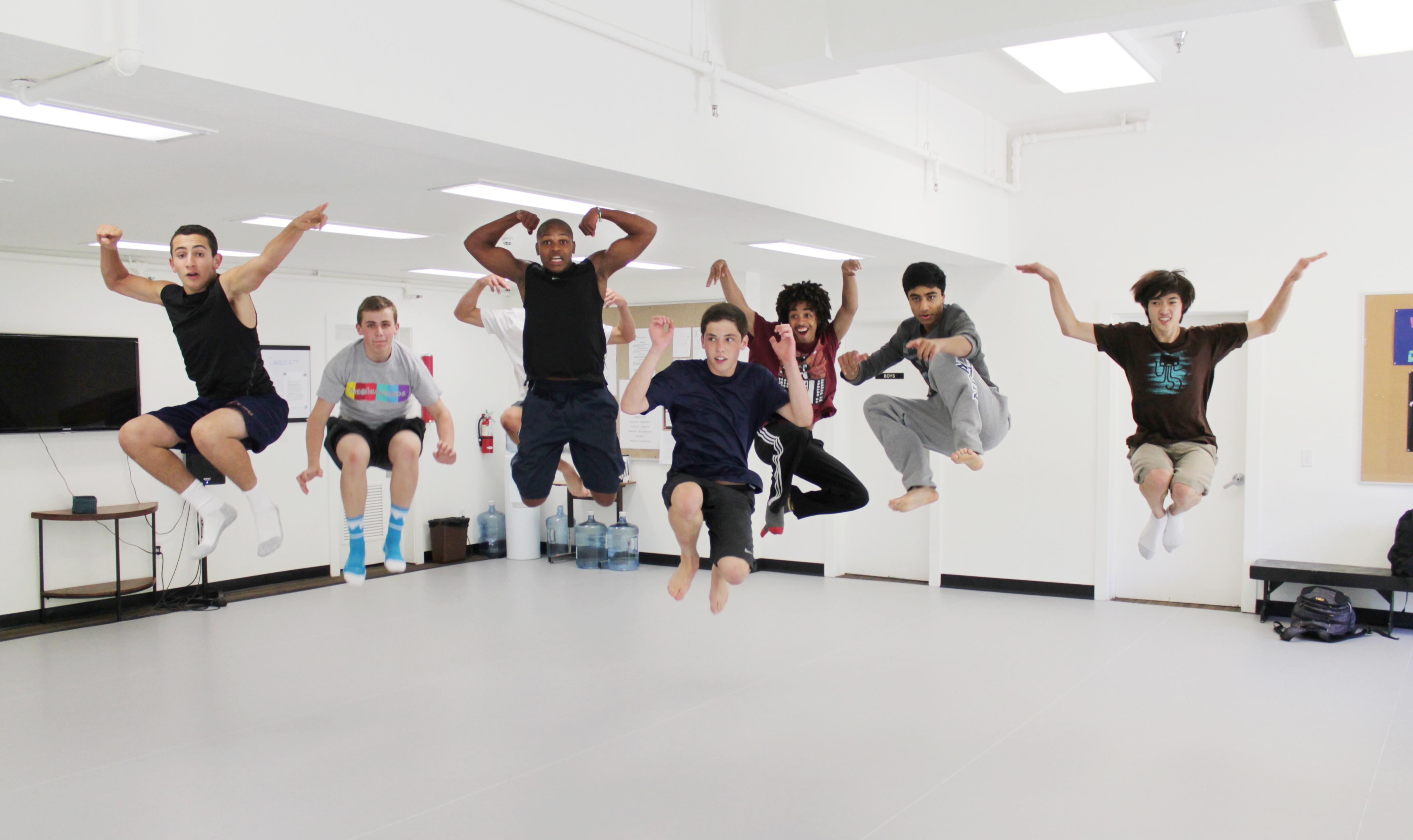 dance classes for men